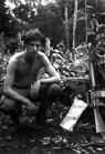 Ted Balzarini setting up a night ambush in Vietnam